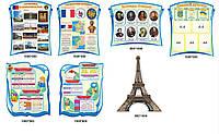 Набір стендів для кабінету французької мови
