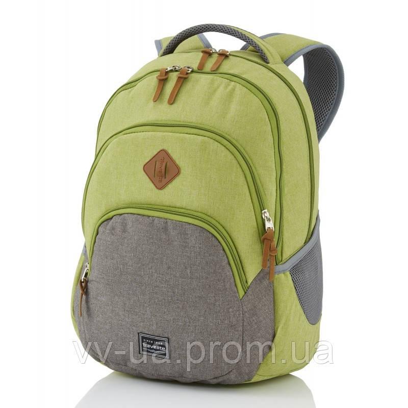 Рюкзак Travelite Basics, зеленый, 31x45x16см (TL096308-80)