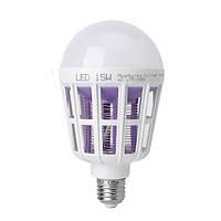Лампочка - уничтожитель комаров и насекомых, мощностью 15 Ватт (MKL-15)