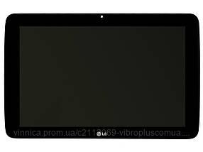 Дисплей (экран) LG G Pad V700 with touch screen (с тачскрином в сборе) ORIG, black (черный)