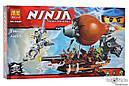 Конструктор Bela Ninja 10448 Пиратский Дирижабль 294 детали, фото 3