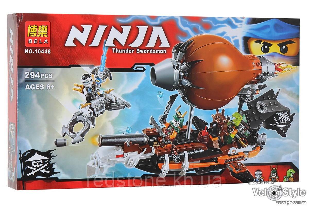 Конструктор Bela Ninja 10448 Пиратский Дирижабль 294 детали - redstone.kh.ua в Харькове