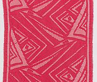 Кружево стрейч корал 17см 1286-18