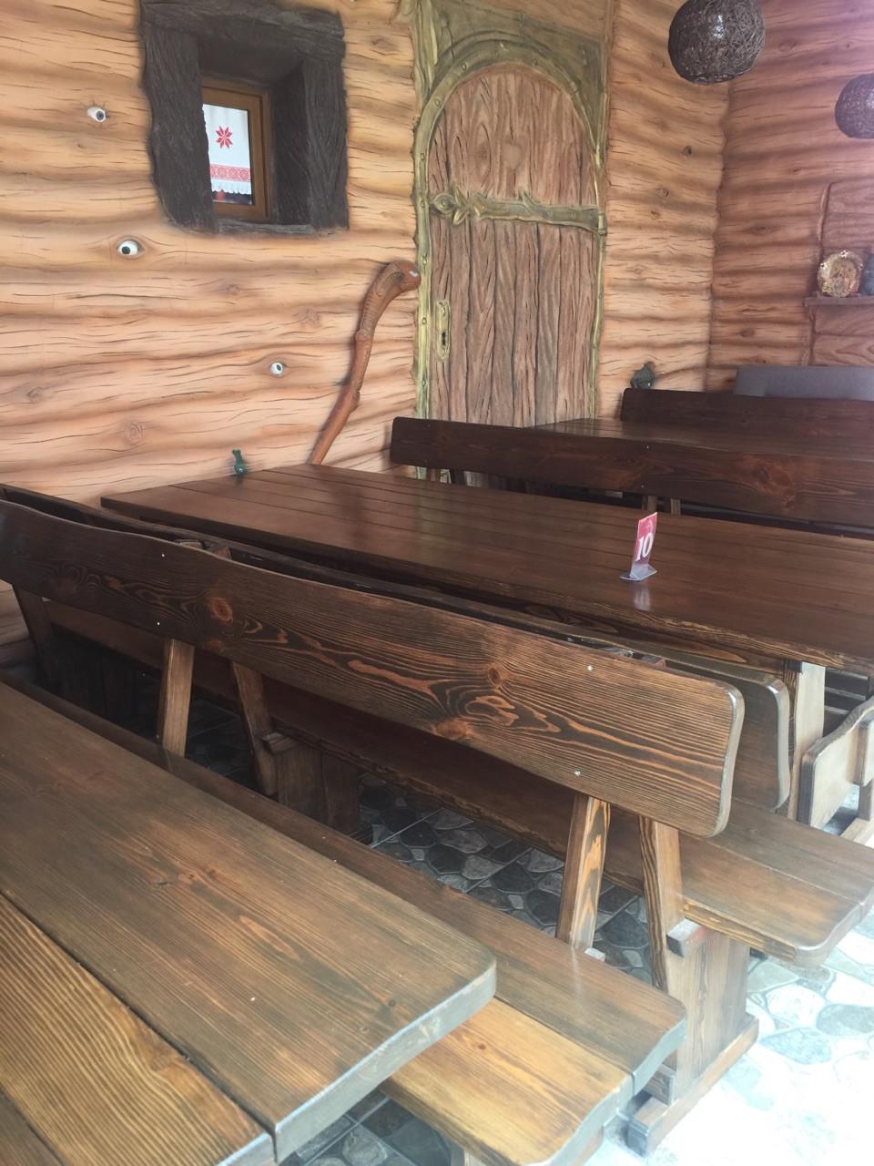 Деревянная мебель для беседок и мангалов в Хмельницке от производителя