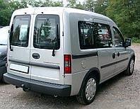 Заднее стекло (распашонка левая) с электрообогревом на автомобиль Opel Combo C (2001–2011) (Опель Комбо C (200