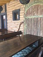 Деревянная мебель для беседок и мангалов в Херсоне