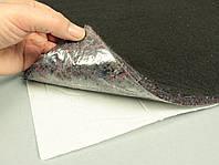 Шумо-звукоизоляция войлочная НВ-12К, ламинированная нетканкой, 50х75 см, толщина 1.2 см, самоклейка