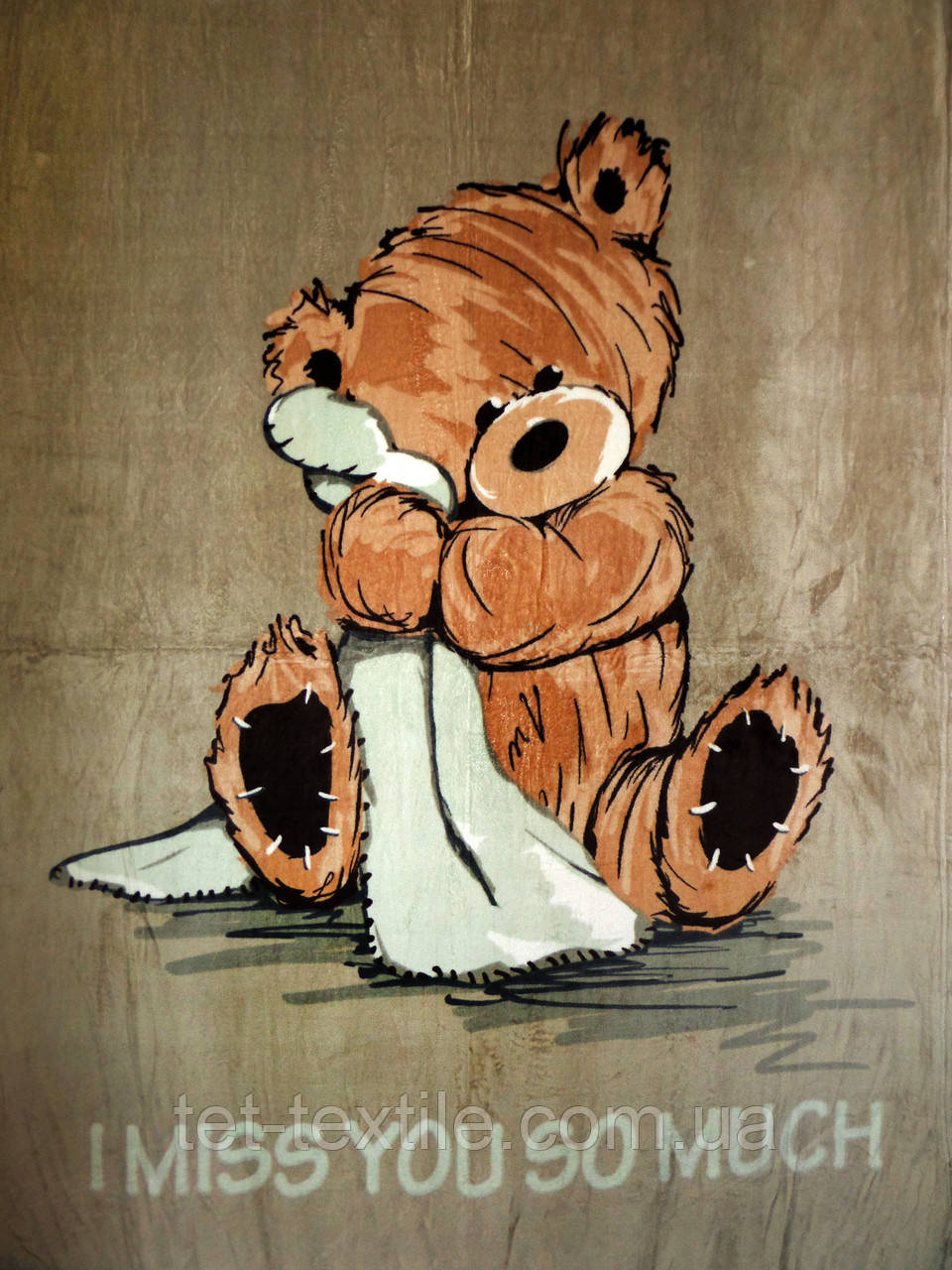 "Плед детский из микрофибры ""Мишка Тедди 2"" (160х210)"