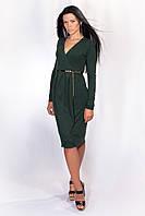 """Элегантное женское платье с эффектом """"запаха"""", фото 1"""