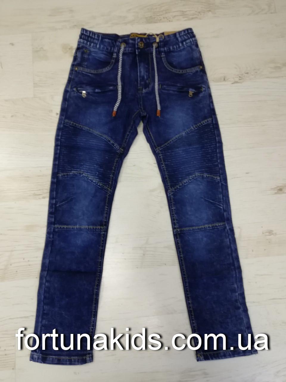 Джинсовые брюки для мальчиков Seagull 134-164 р.р.
