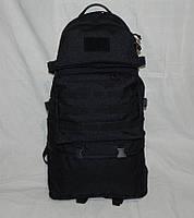 Армейский рюкзак трансформер 40-60 литров (черный), фото 1