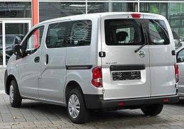 Заднее стекло (распашонка правая) на Nissan NV200 (Ниссан NV200)