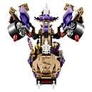 """Конструктор Bela Ninja (Lego Ninjago) 10321 """"Вертолетная атака Анакондраев"""" 310 дет, фото 3"""