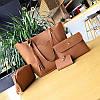 Женская сумка набор рыжий  4в1 опт