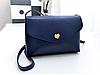 Женская сумочка клатч синяя опт