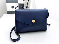 Жіноча сумочка клатч синя опт
