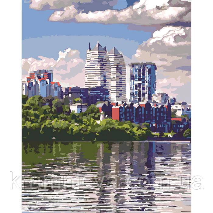 Картины по номерам Любимый город, 40х50см. (КНО2186)