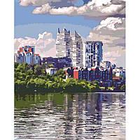 Картины по номерам Любимый город, 40х50см. (КНО2186), фото 1