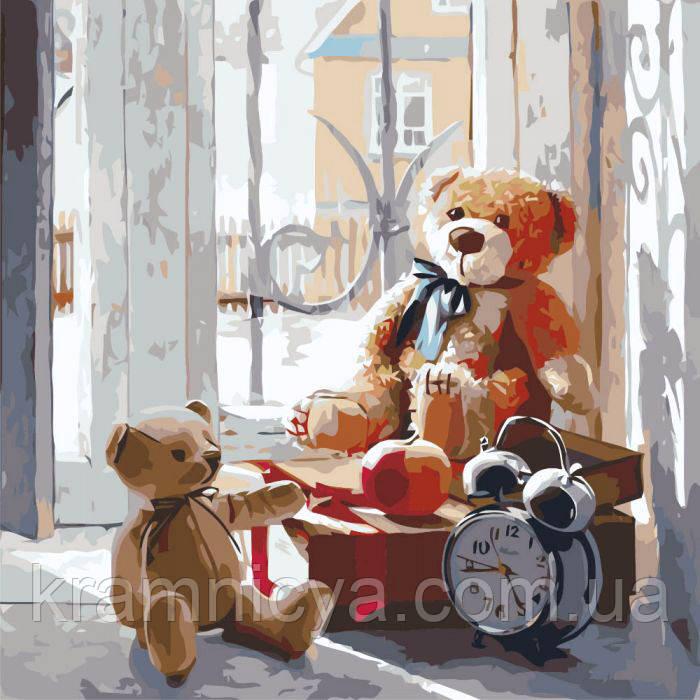 Картина по номерам Игрушки детства 40х40 (КНО2310)