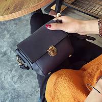 Красивая женская сумочка клатч фиолетовая 430 опт