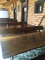 Деревянная мебель для беседок и мангалов в Измаиле от производителя