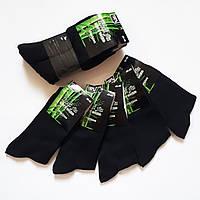 Мужские носки Ruifa 618-2. Черные. Размер 43-46