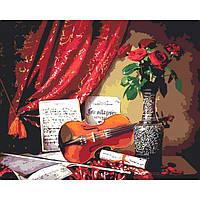 Картины по номерам Мелодия скрипки 2 (КНО5513)