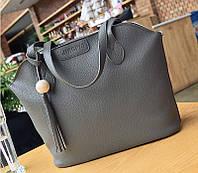 Женская сумка большая, маленькая сумочка и кошелек набор опт, фото 1