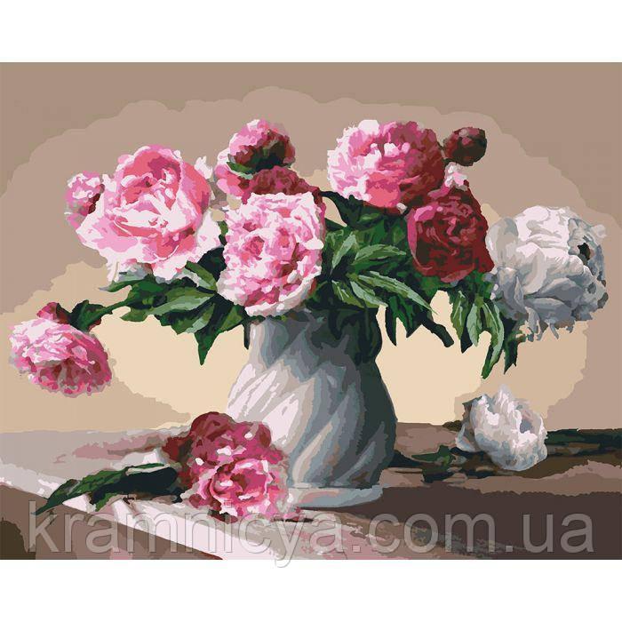 Картины по номерам Цветы любви, 40х50 (КНО3001)