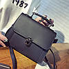 Женская сумочка через плече черная опт