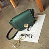 Женская сумочка маленькая через плече зеленая опт