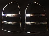 Хромированные накладки на задние фонари( стопы)  Hyundai Tucson  Avtoclover