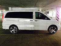 Передний салон, правое стекло на автомобиль Mercedes-Benz Vito 04- (Мерседес Вито 04-)