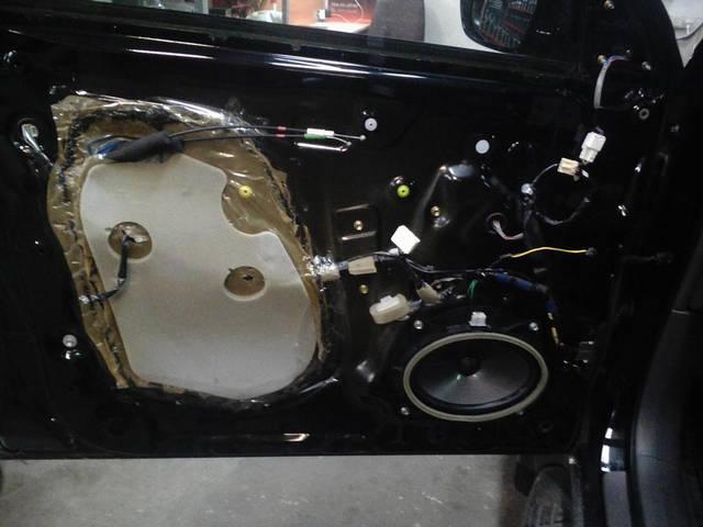 Toyota Prado 120 2007г Шумо-Вибро изоляция 4-х дверей 11