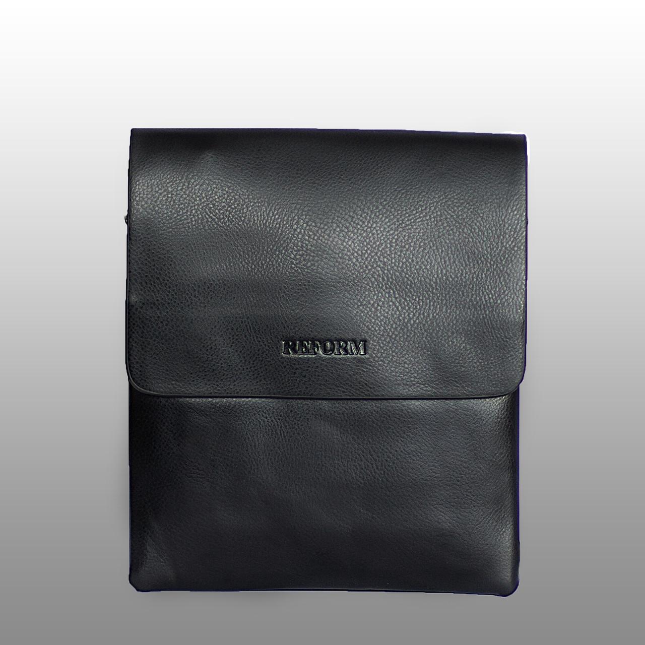 Мужская сумка Reform 25x21, черная