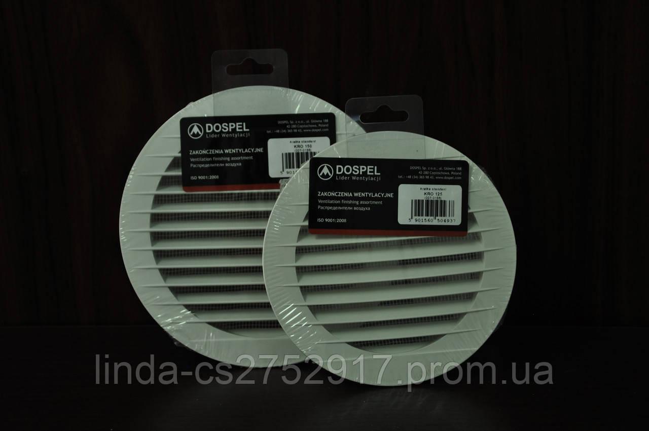 Решетка вентиляционная KRO 100 Dospel