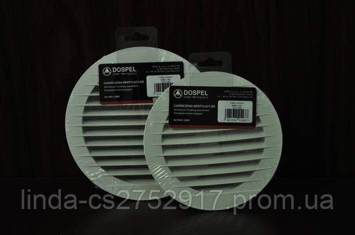 Решетка вентиляционная KRO 100 Dospel, фото 2