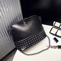 Женская сумочка мини черная через плече опт, фото 1