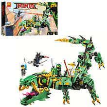 Конструктор Bela Ninja Механический Дракон Зелёного Ниндзя