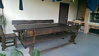 Деревянная мебель для беседок и мангалов в Коростене