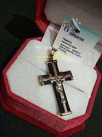 Золотой крест 585 пробы
