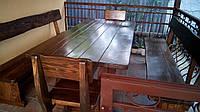Деревянная мебель для беседок и мангалов в Житомире