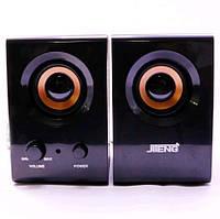 Колонки для ПК компьютера Jiteng D99A Black, фото 1