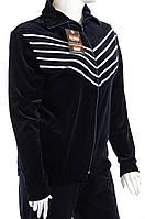 Велюровый женский спортивный костюм K115 4XL, Белый