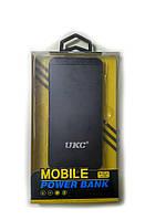 УМБ портативная зарядка Power Bank UKC M6 15000 mAh Iphone style Black