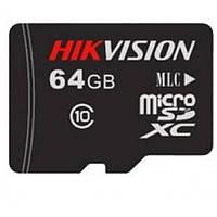 MicroSDXC карта на 64GB Hikvision DS-UTF64G-L2 10 Class