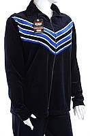 Велюровый женский спортивный костюм угол K104