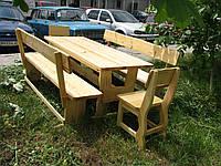 Деревянная мебель для беседок и мангалов в Корсунь-Шевченковске