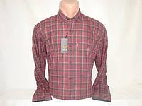 Мужская тёплая рубашка в клетку Nens, Турция