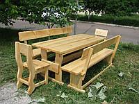 Деревянная мебель для беседок и мангалов в Василькове